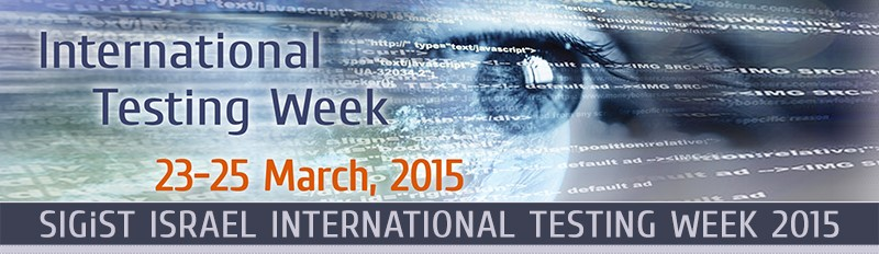 Sela INTERNATIONAL TESTING WEEK 23 25 3 2015 header