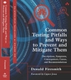 Donald Firesmith - book, Common System and Software Testing Pitfalls